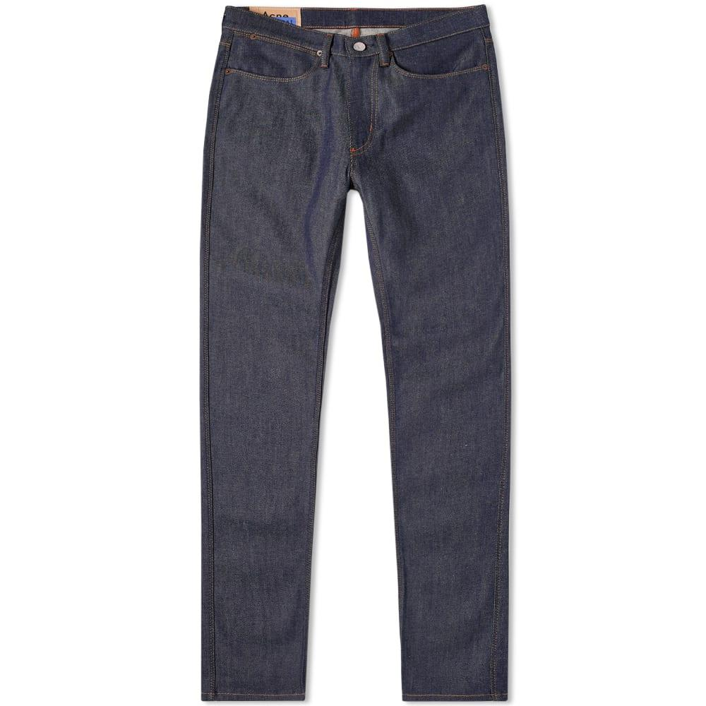 Acne Studios North Classic Slim-fit Jeans In Blue
