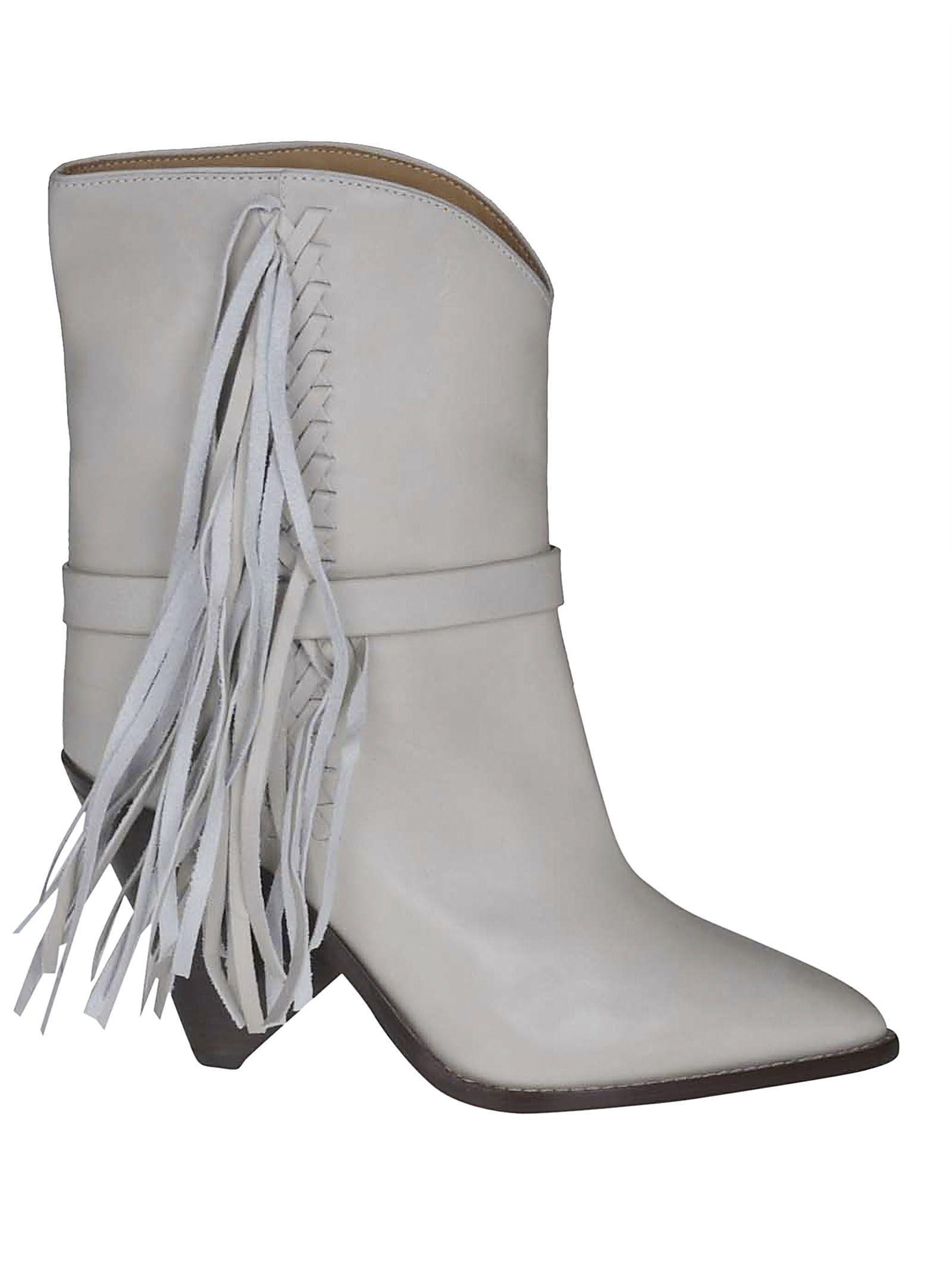 94899dd7e75 Isabel Marant étoile Tassel Detail Ankle Boots