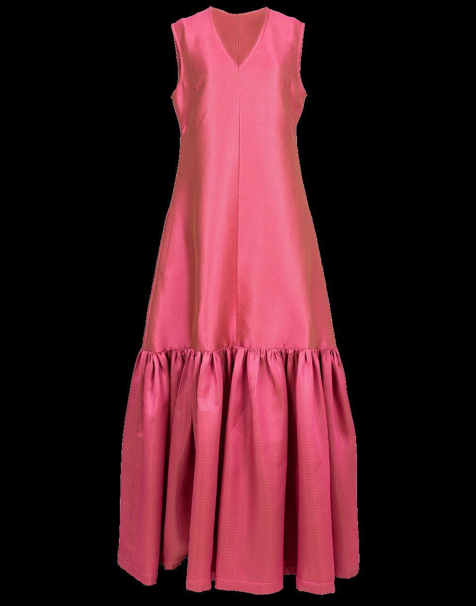 Alexis Mabille Flounce Hem Dress In Rose
