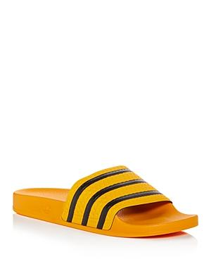 3fd9d20aa2e3 Adidas Originals Adilette Sliders In Yellow Cq3099 - Yellow In Gold ...