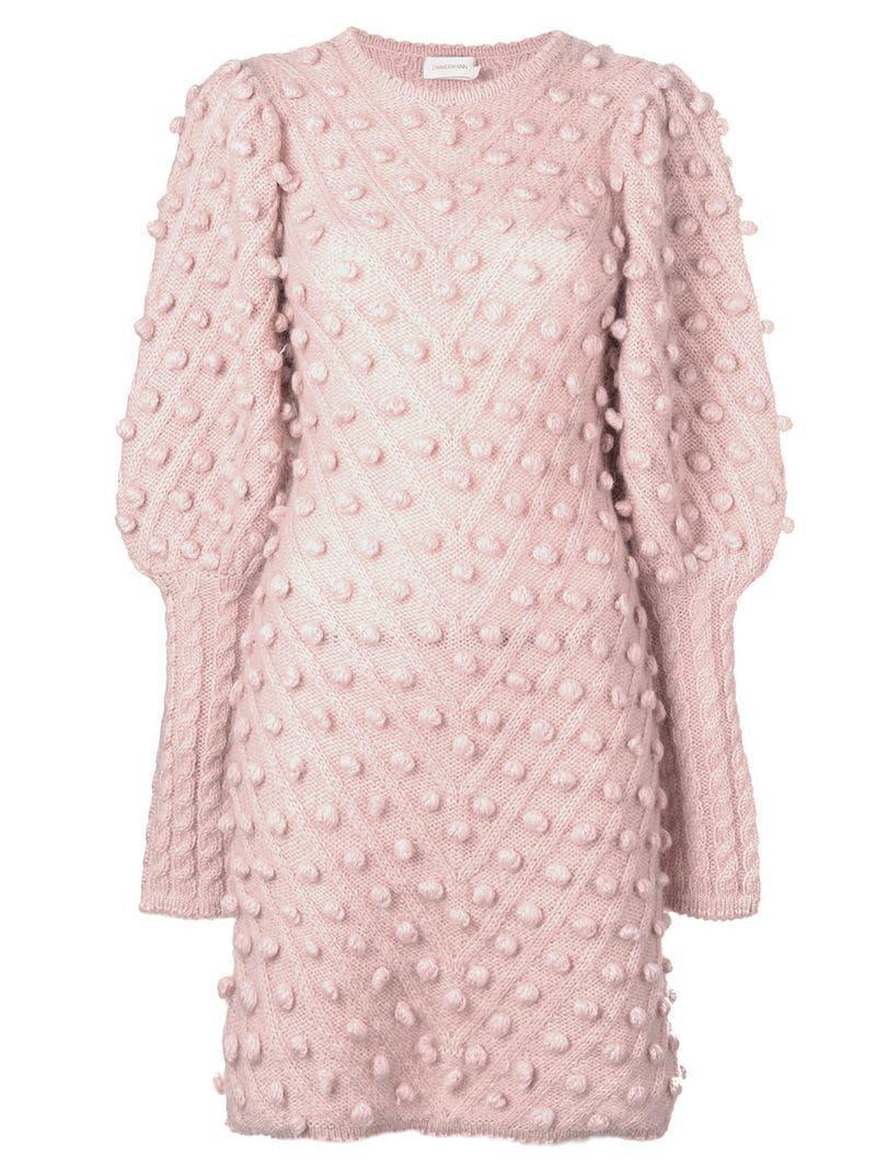 fac600b0f69 Zimmermann Fleeting Bauble Dress In Pink