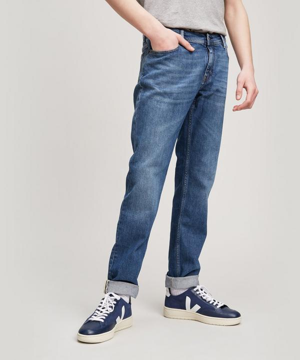 4a9a4f5cfb4 Acne Studios BlÅ Konst North Mid-Rise Slim-Leg Jeans In Mid Blue ...