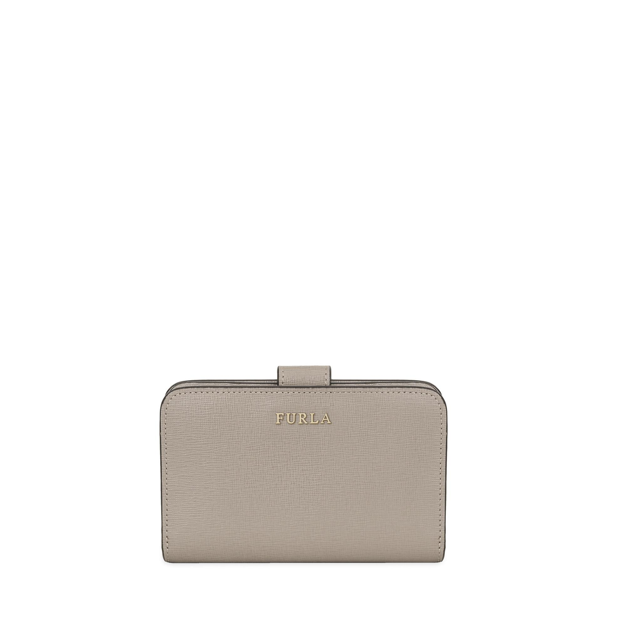 Furla Babylon Zip Around Sabbia B In Beige