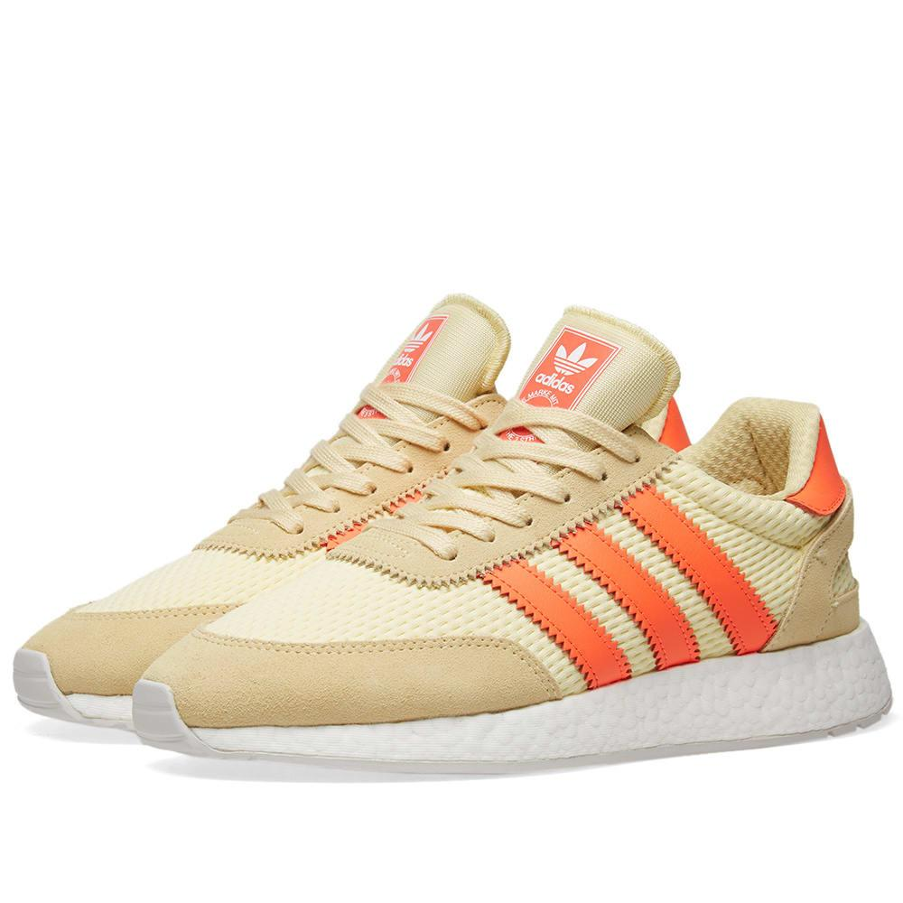 finest selection 09492 c0513 Adidas Originals I-5923 Leather Sneakers In Yellow D96604 - Yellow