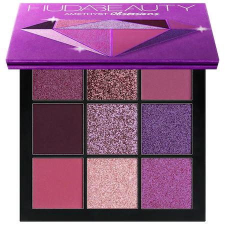 Huda Beauty Obsessions Eyeshadow Palette Amethyst 9 X 0.05 oz/ 1.3 G In Multi