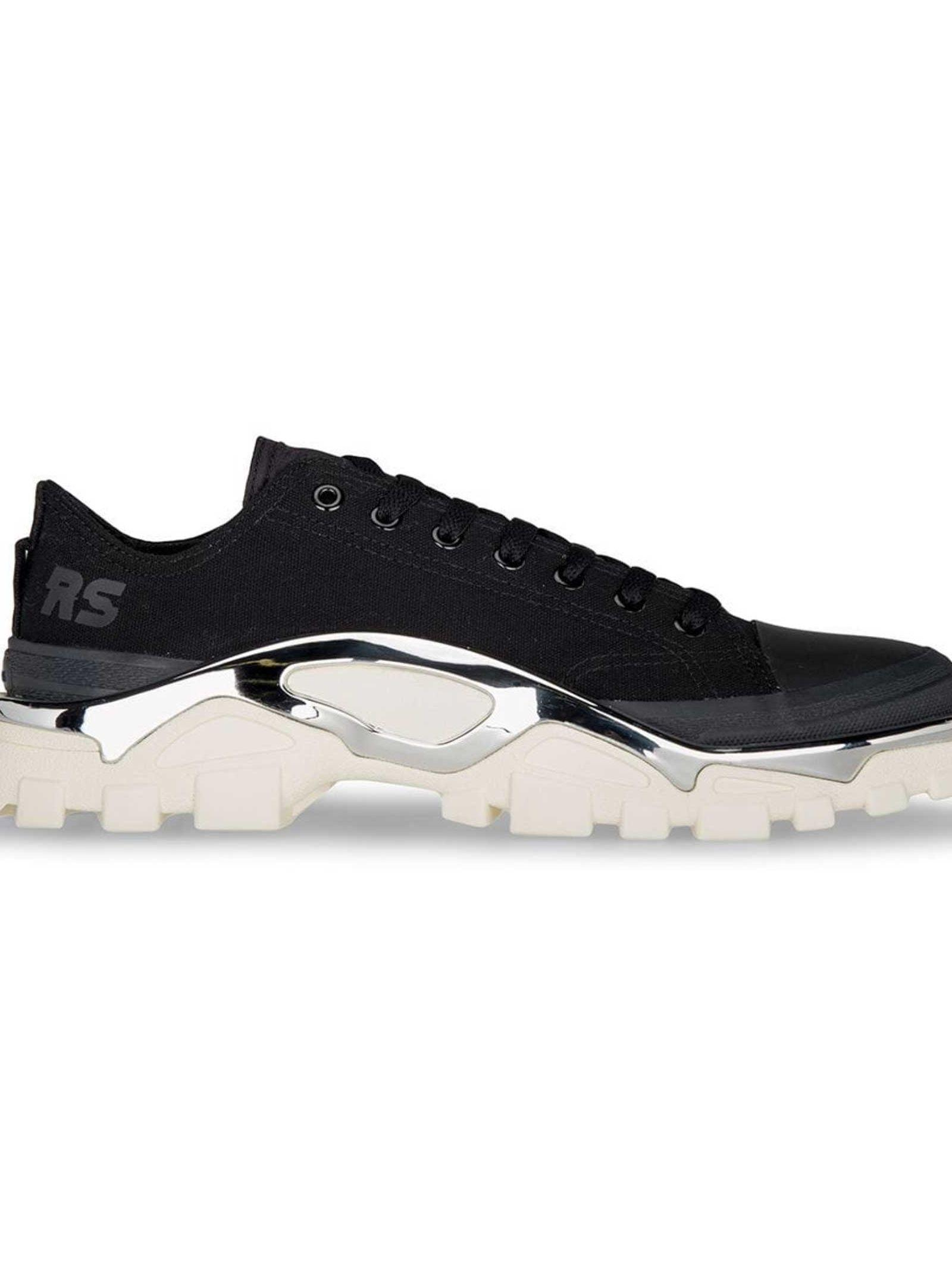 sports shoes f3777 c4159 Adidas By Raf Simons Adidas Raf Simons Detroit Runner Sneakers In Black