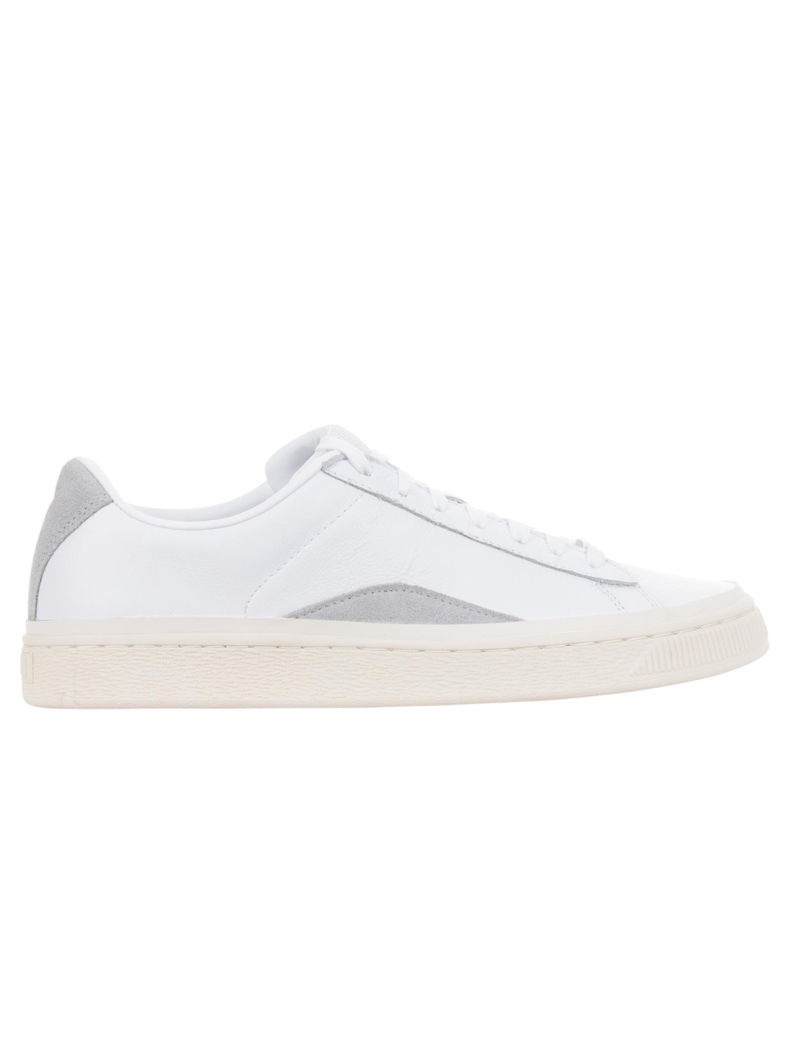 56043ce1bfab98 Puma X Han Kjobenhavn Men S Basket Low-Top Leather Sneakers In White ...