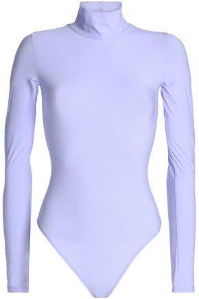 Alix Woman Stretch-jersey Turtleneck Bodysuit Lilac