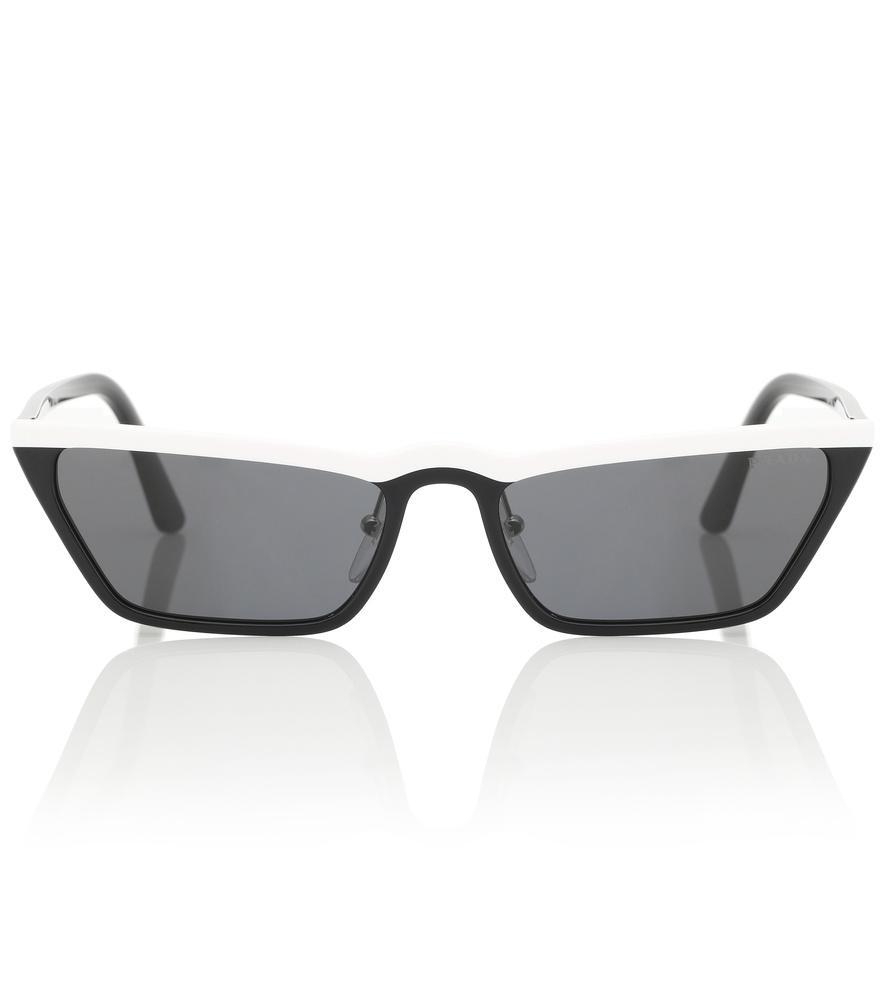 b3d980b2a6 Prada Slim Acetate Cat-Eye Sunglasses