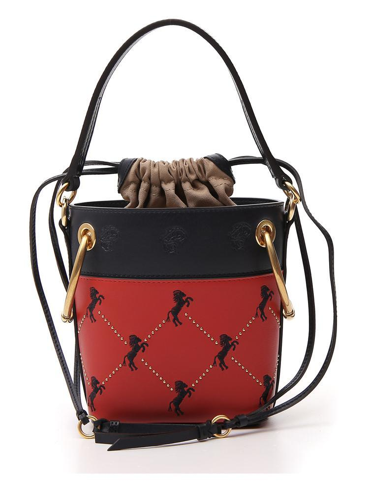 f10aa6a6 CHLOÉ ROY HORSE EMBROIDERED BUCKET BAG
