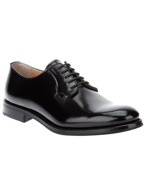 Church's Shannon Leather Derby Shoes In Black