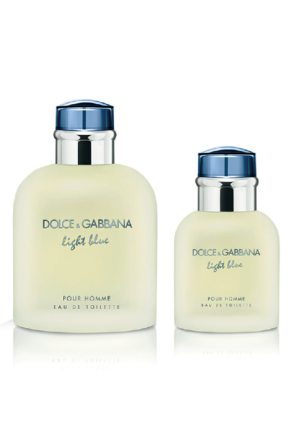 Dolce Gabbana Light Blue Pour Homme Eau De Toilette Set 143