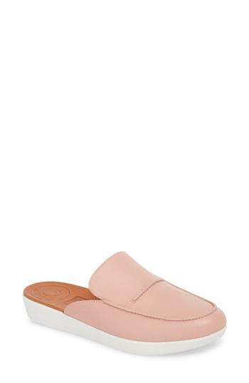 071c9ea0a0d1 Fitflop Serene Mule In Apple Blossom Leather