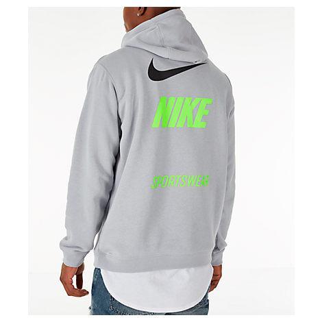 Shop Nike Men S Sportswear Microbranding Hoodie f21fb3b607de