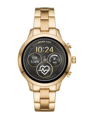 Michael Kors Access Wrist Watch In Gold