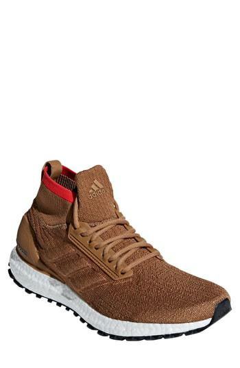 cc30cf34ae5 Adidas Originals Ultraboost All Terrain Water Resistant Running Shoe In  Brown