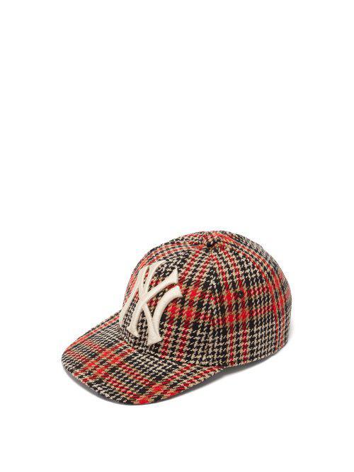 11b0b22d NY Yankees wool-blend tweed baseball cap