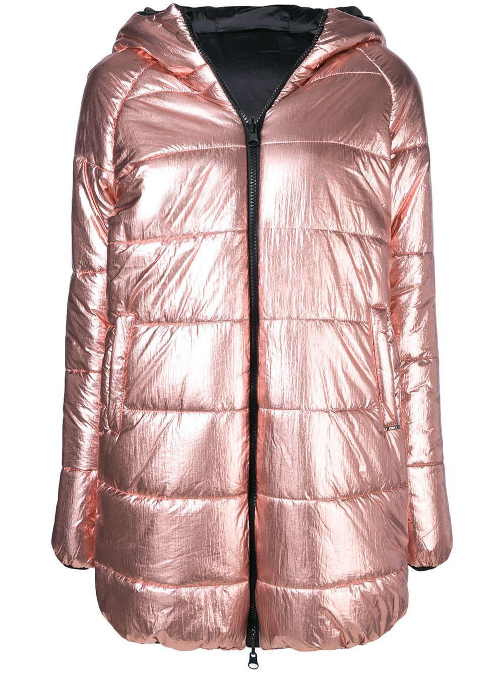 db48effc9f Liu •Jo Liu Jo Reversible Puffer Jacket - Pink | ModeSens