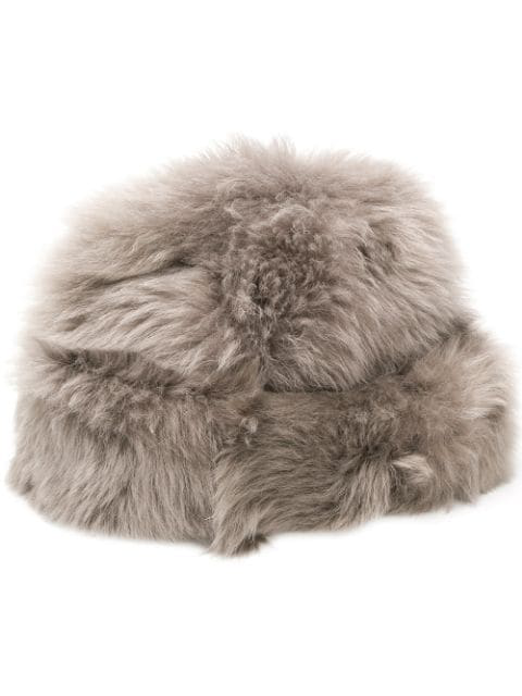 Borsalino Fuzzy Cap - 灰色 In Grey