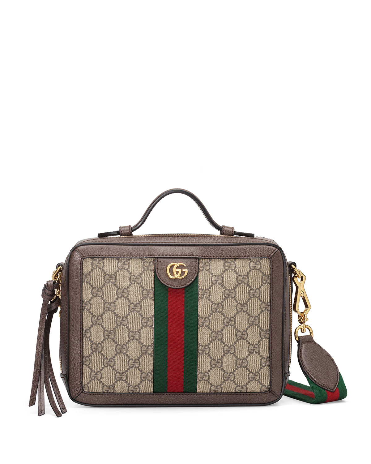 e01233d2d6f Gucci Small Ophidia Gg Supreme Canvas Shoulder Bag - Beige In 8745 Gg Beige