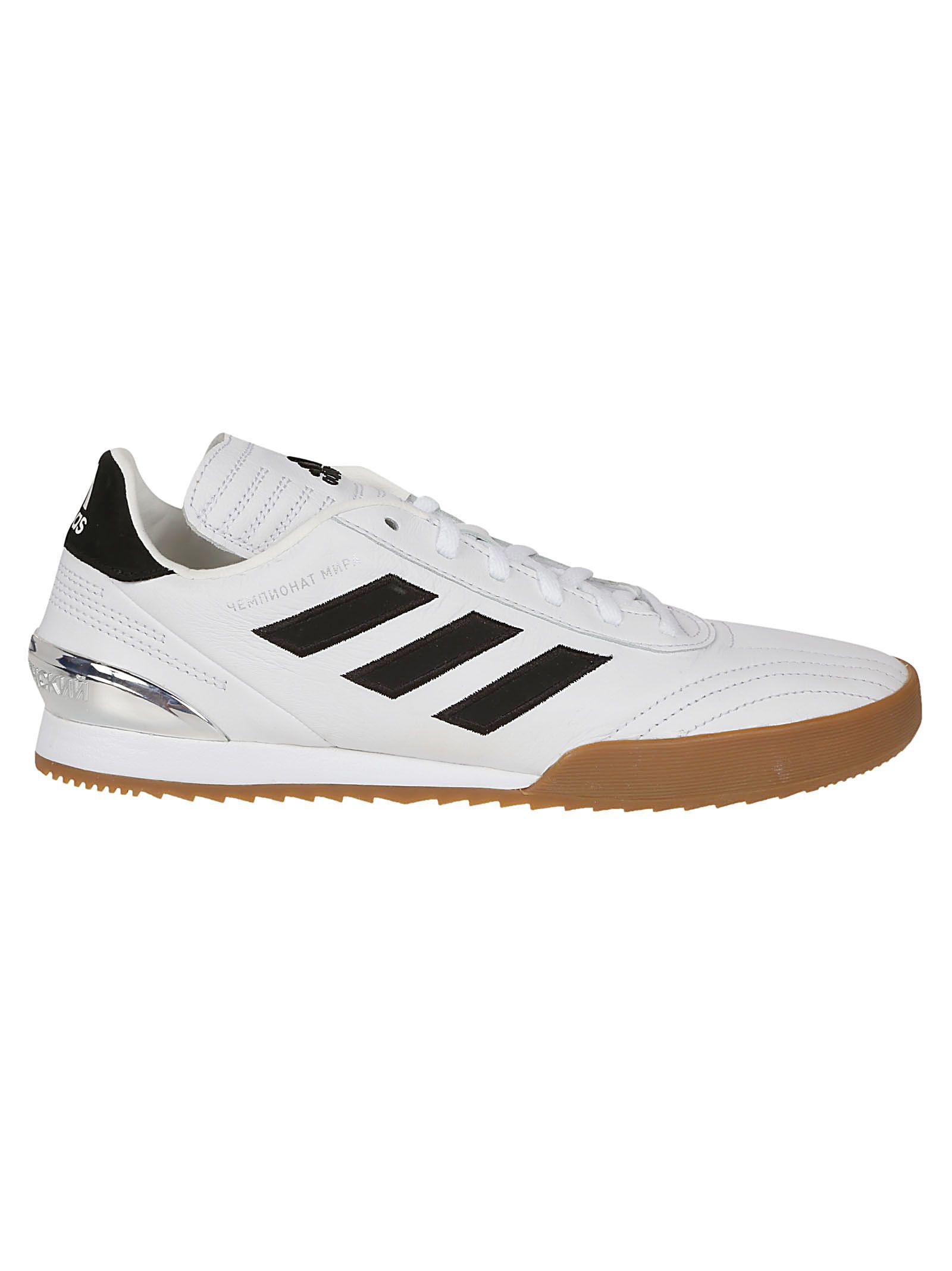 info for 23e2d 693cd Gosha Rubchinskiy White Adidas Originals Edition Gr Copa Wc Super Sneakers