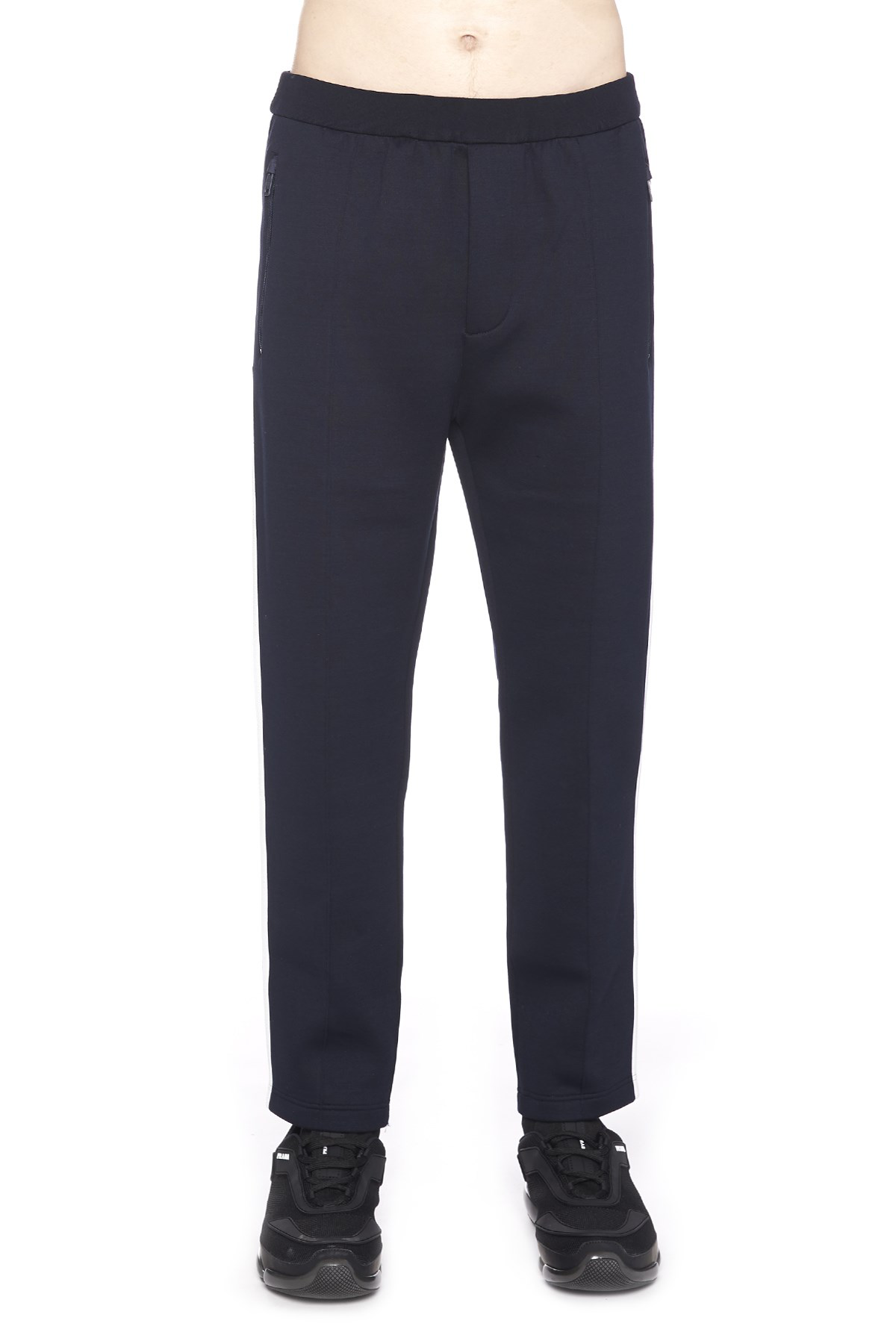 Prada Technical Jersey Jogging Trousers - 蓝色 In Blue