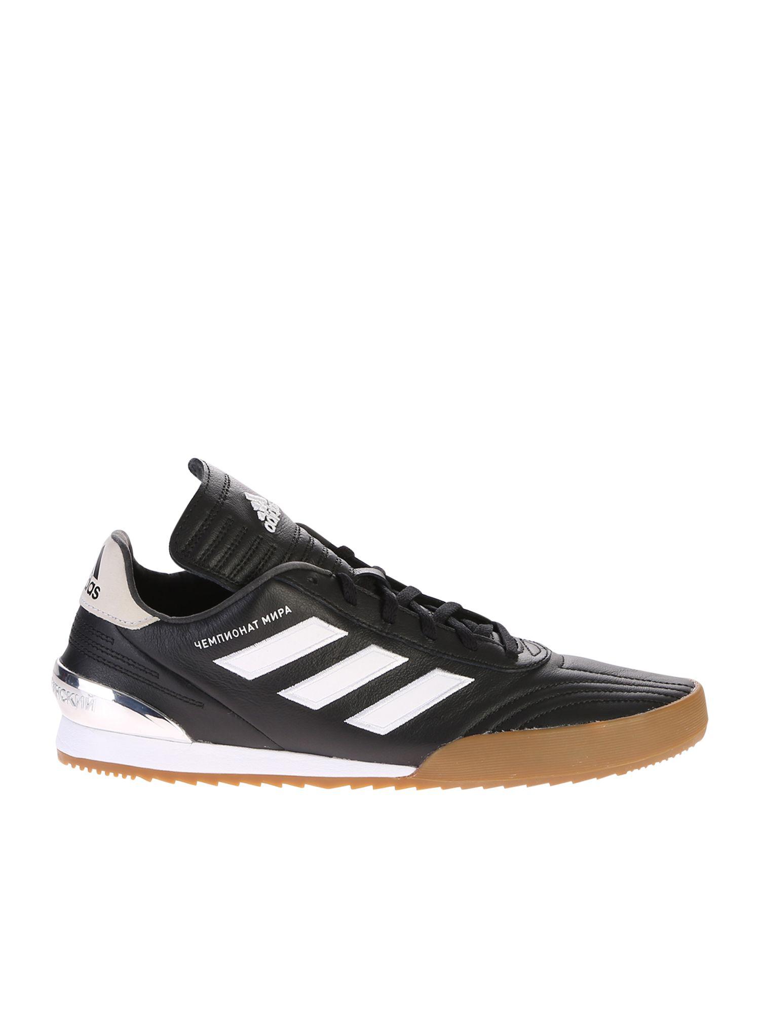 700287696d38d Gosha Rubchinskiy Copa Super Leather Sneakers - Black