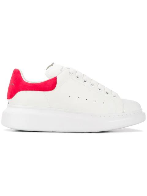 Alexander Mcqueen 553770whgp7 9097 White Coral Leather - 白色 In White