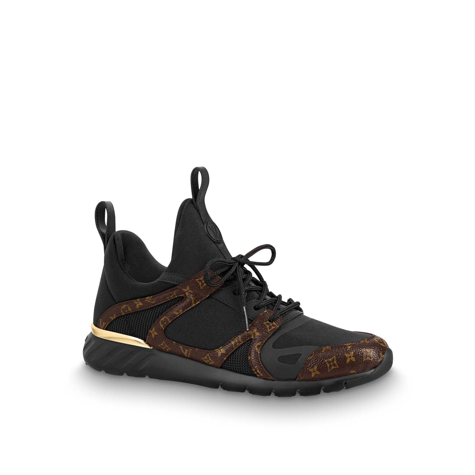 d8abc0e905f5 Louis Vuitton Aftergame Sneaker In Noir