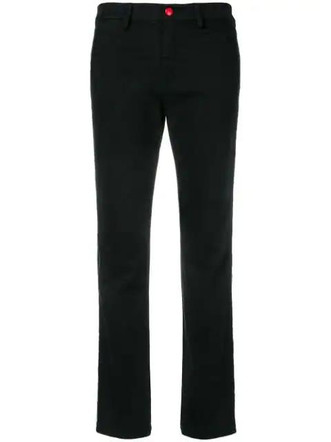 History Repeats Side-stripe Skinny Jeans In Black