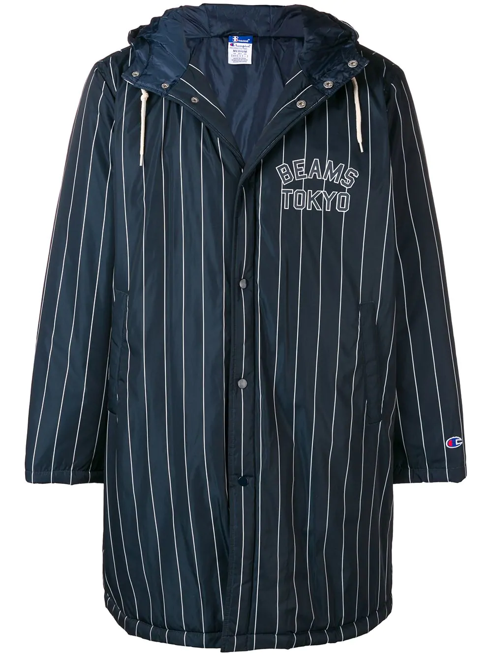 b4093851f Champion X Beams Tokyo Coat In Blue | ModeSens