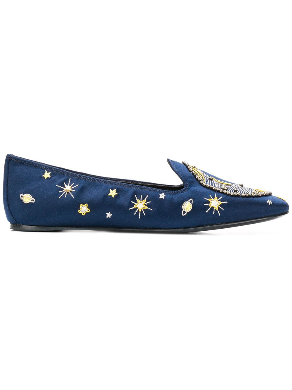 41dff6331e7 Tory Burch Olympia Embroidered Loafer