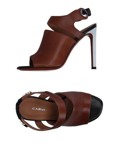 Carven Sandals In Camel