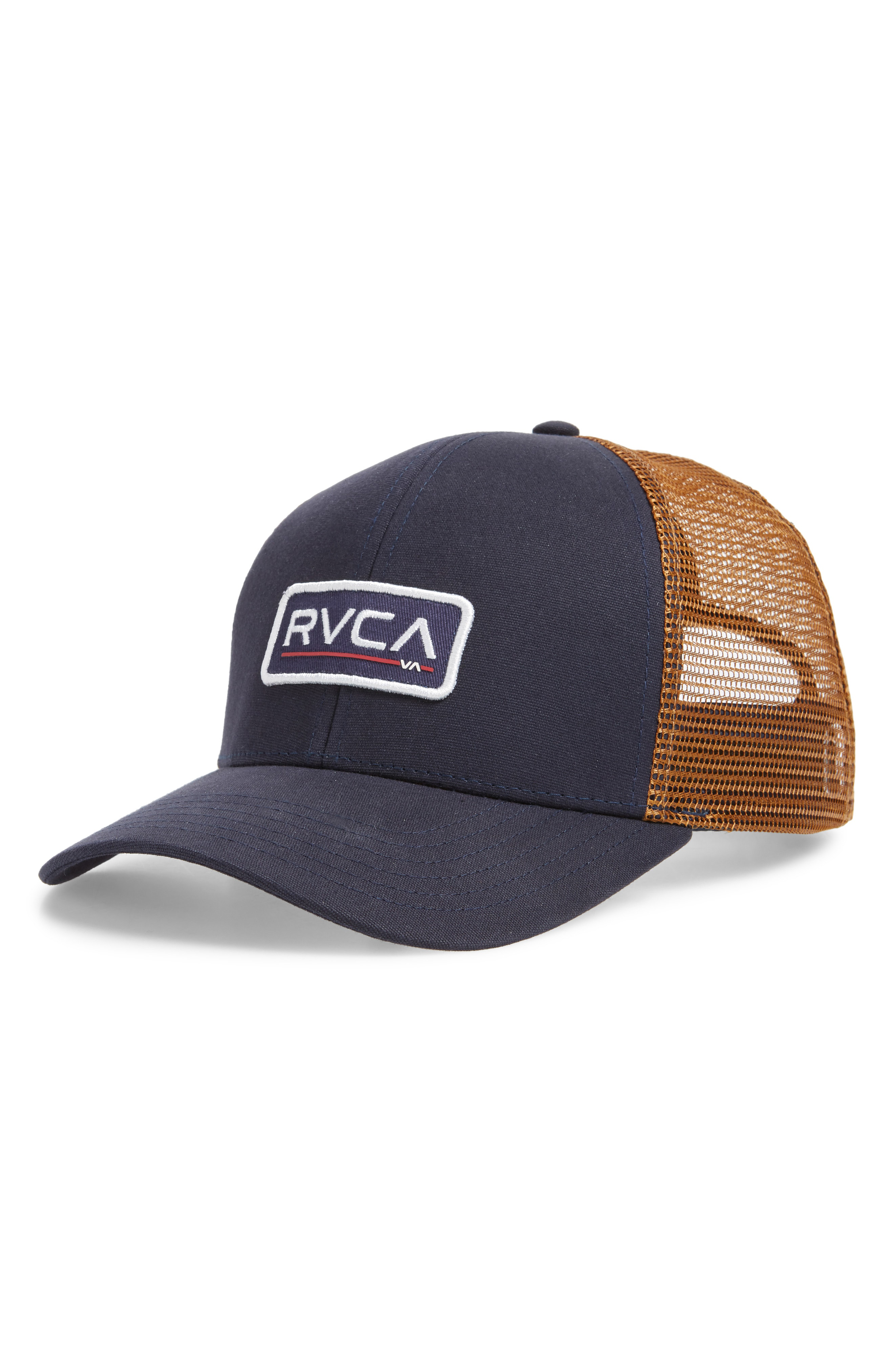 finest selection de9e3 21ffd Rvca Ticket Ii Trucker Hat In Navy