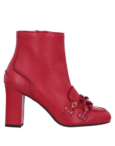 Boutique Moschino Ankle Boot In Red