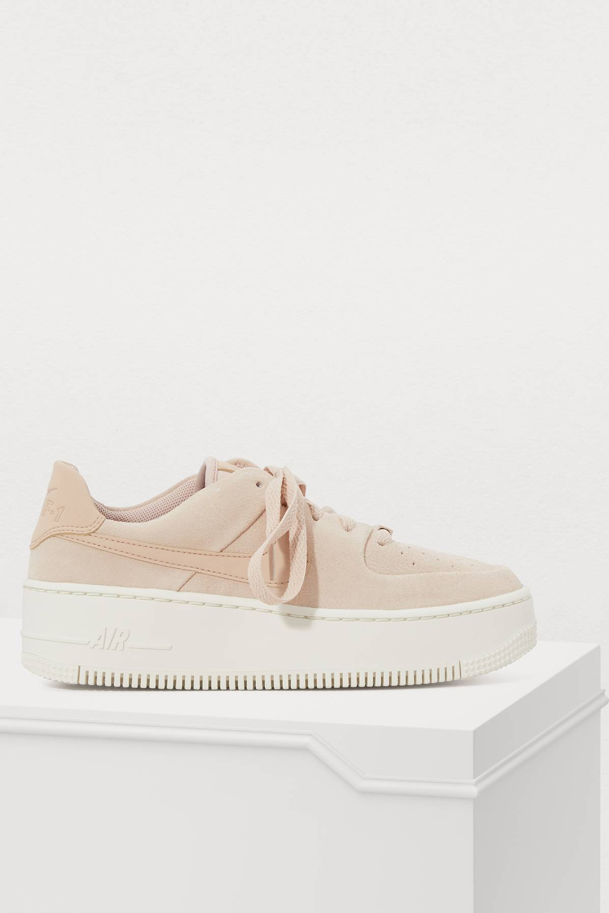 Nike Air Force 1 Sage Low Sneakers In Particle Beige Particle Beige