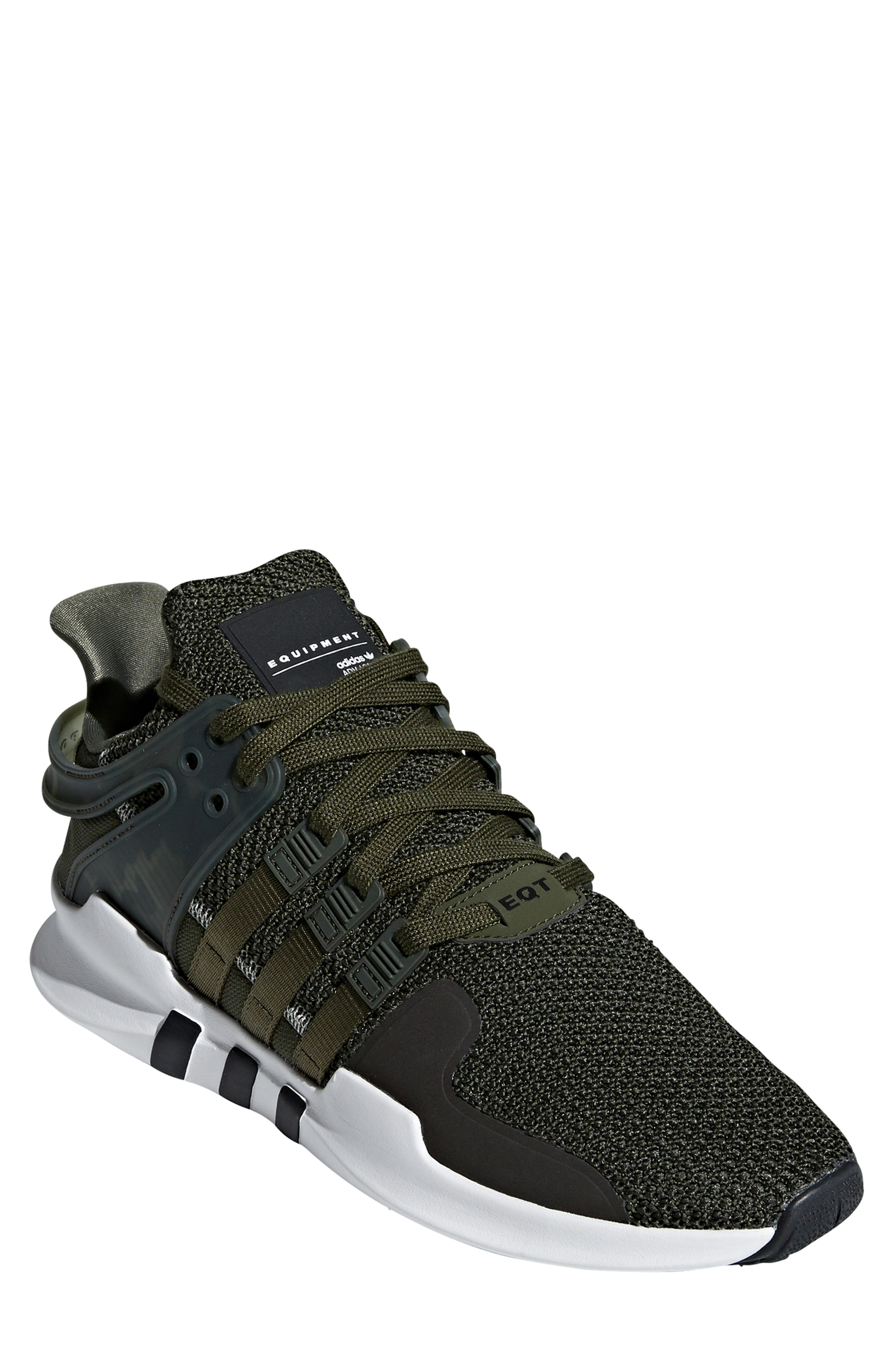 0bdafe6e5889 Adidas Originals Eqt Support Adv Sneaker In Night Cargo   White   Black