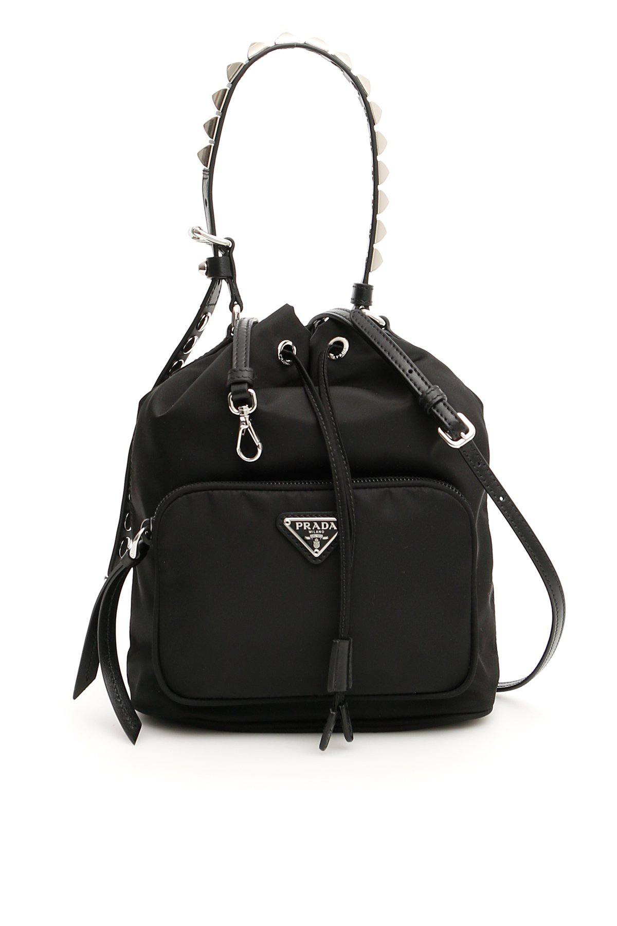 0e7af6fcf359 PRADA PRADA STUDDED STRAP SHOULDER BAG. Photo: CETTIRE