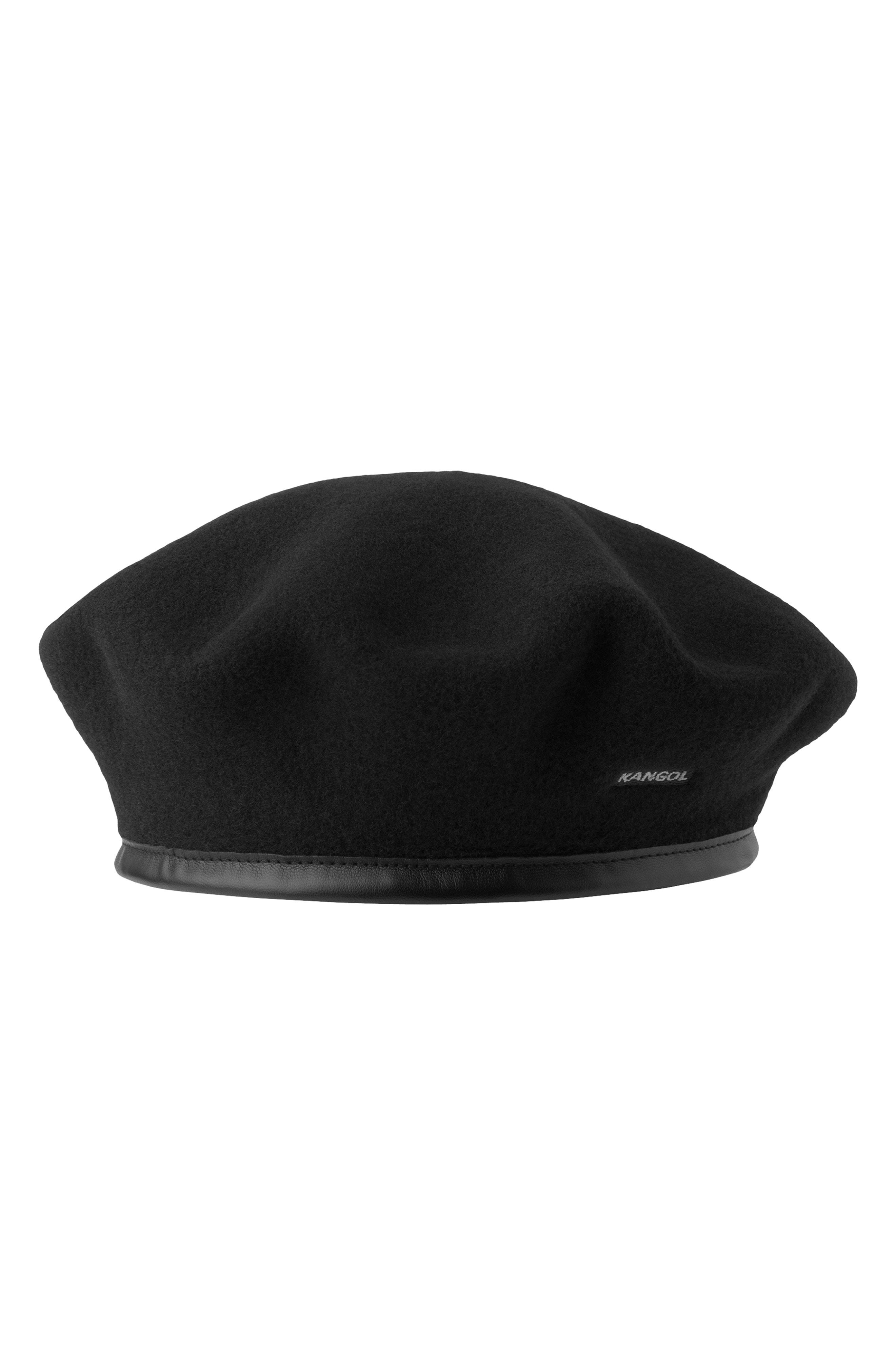 c87b72bfc08e1 Kangol Monty Wool Beret - Black