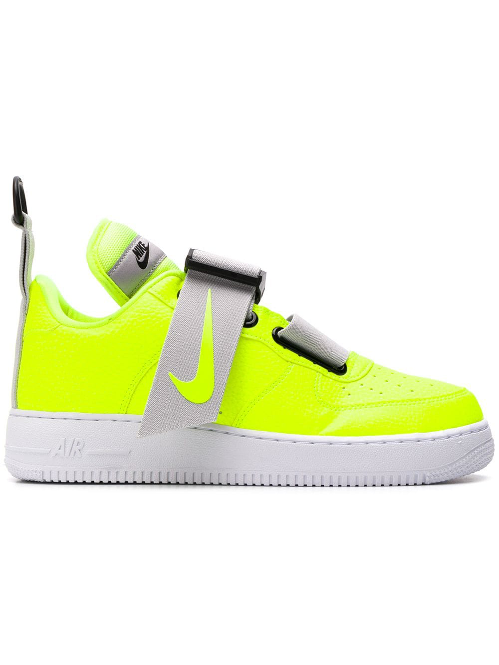 quality design e2a1f c54f3 Nike Men s Air Force 1 Utility Casual Shoes, Yellow