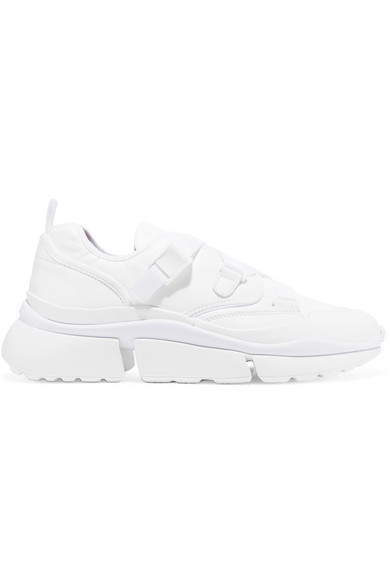 ChloÉ White Women's White Sonnie Low-top Sneakers