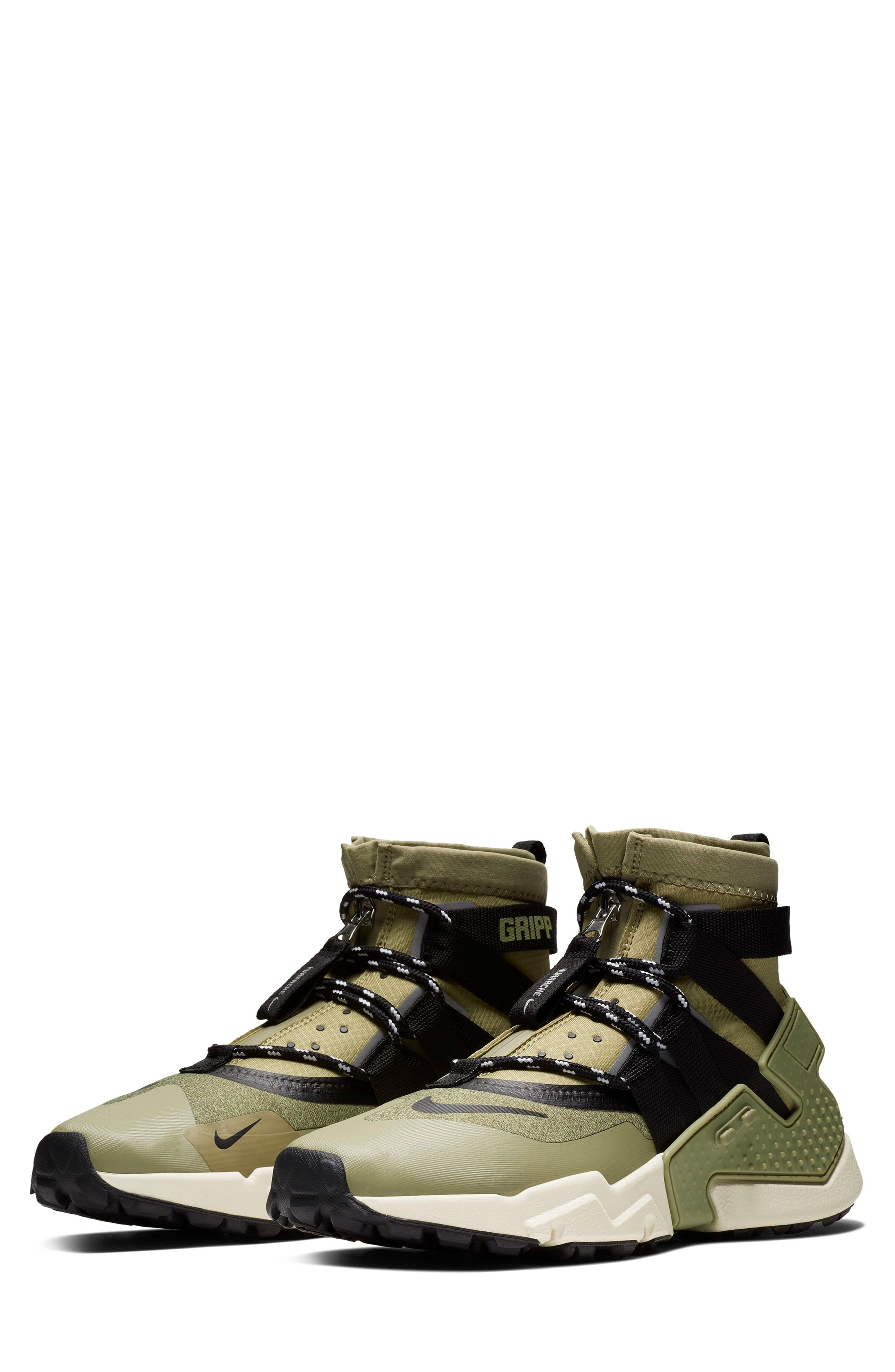 huge selection of f899e cedcb Nike Air Huarache Gripp Shield Water Repellent Sneaker In Green