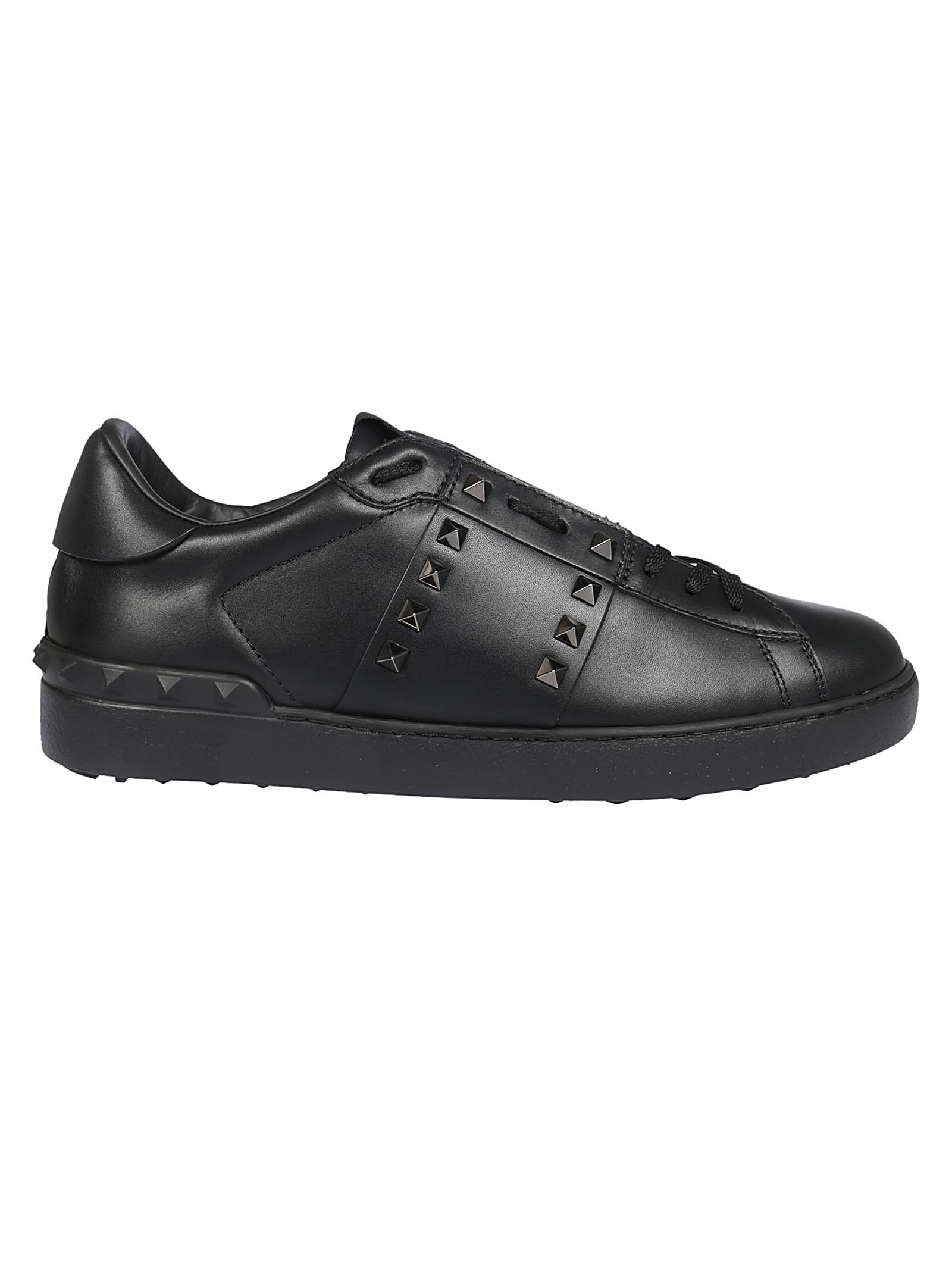 669d7ad7a8f2 Valentino Rockstud Untitled Men s Leather Low-Top Sneaker