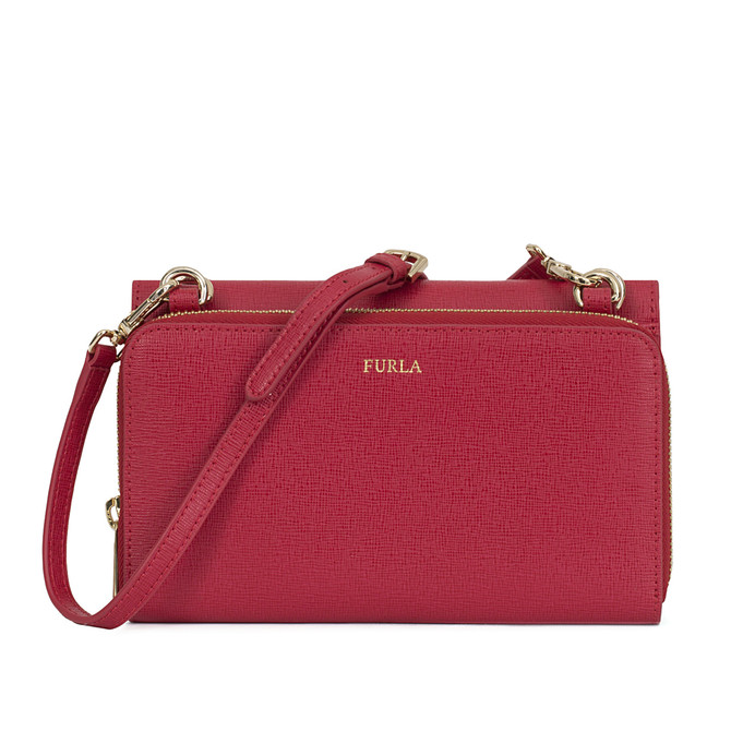 Furla Riva Crossbody-taschen Onice E In Red
