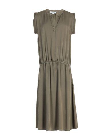 Crossley Knee-length Dress In Military Green