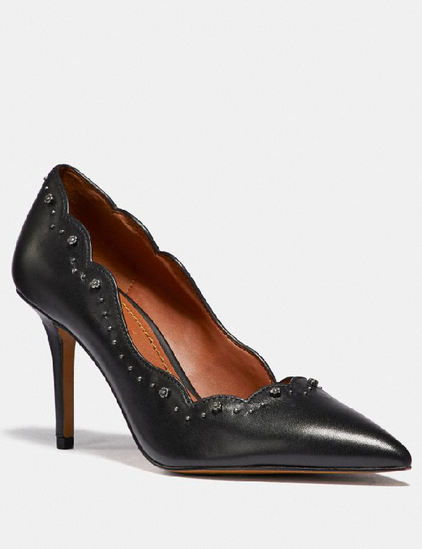 Coach Waverly Pump - Women's In Black
