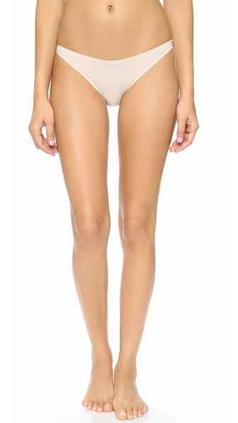 Stella Mccartney Stella Smooth & Lace Bikini Brief In Light Rose