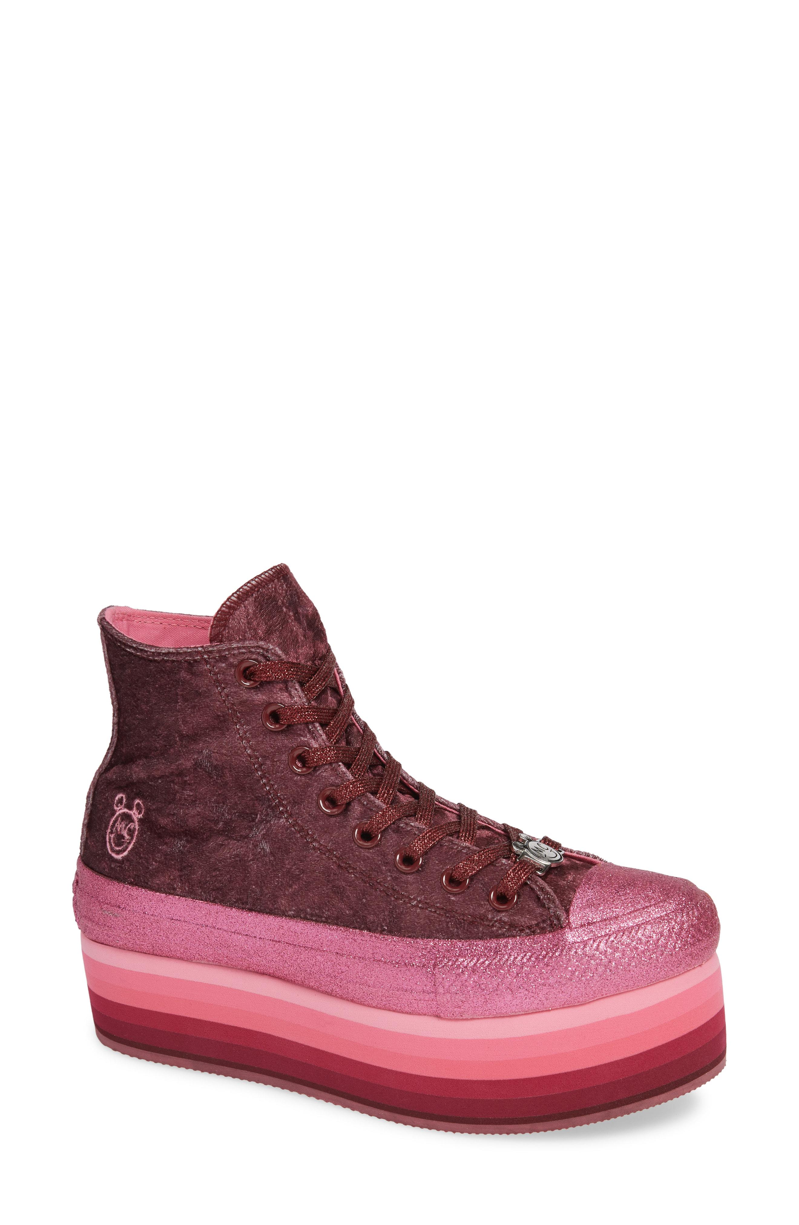 4fe0e81eea9f Converse X Miley Cyrus Chuck Taylor All-Star High-Top Platform Sneaker In  Dark