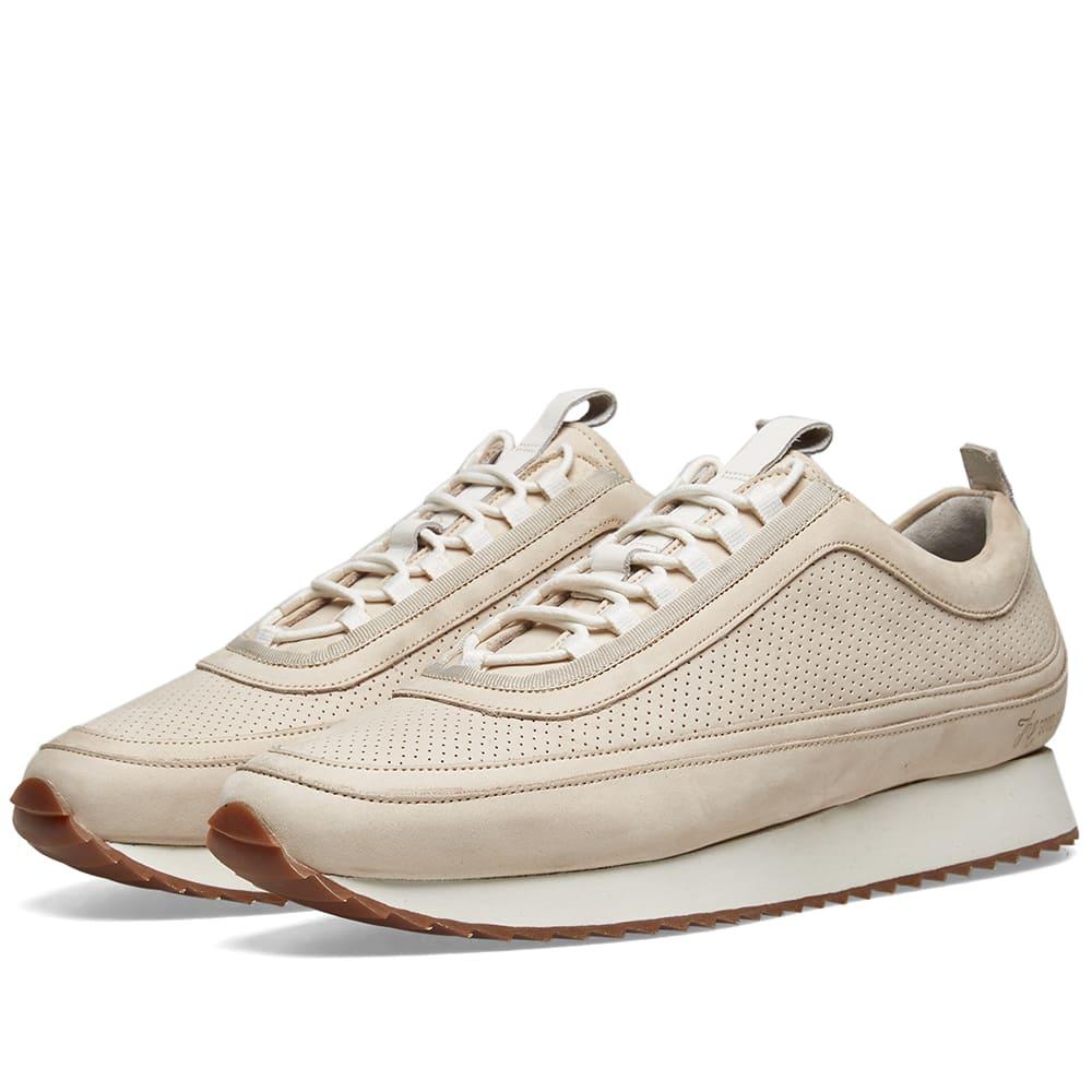 Grenson Men's Sneaker 12 Nubuck Leather Low-top Sneakers In White