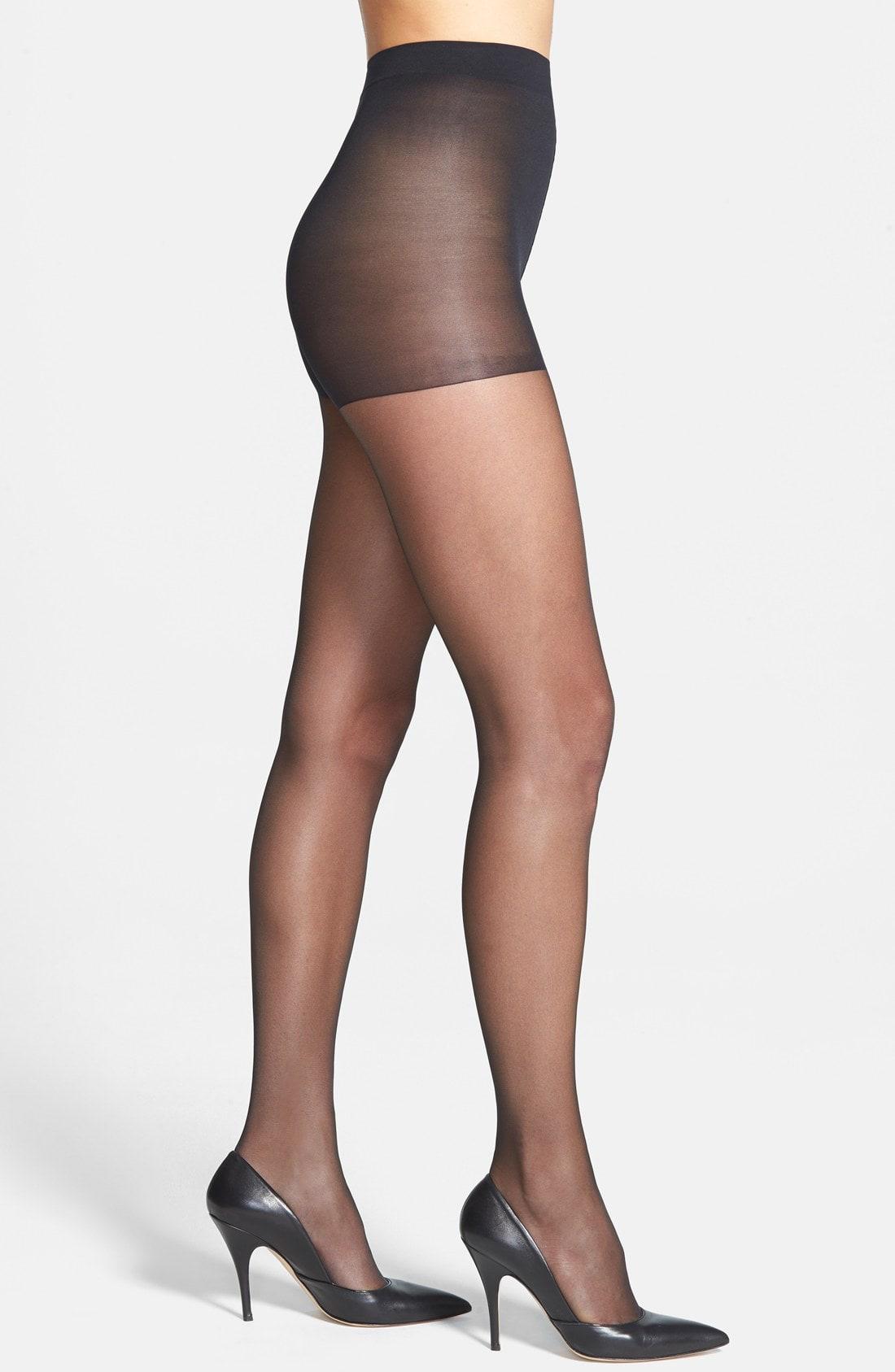 efedd47b4a9 Calvin Klein Hosiery  Sheer Essentials - Matte Ultra Sheer  Control Top  Pantyhose In Black